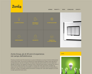 Zonta Group materiale elettrico